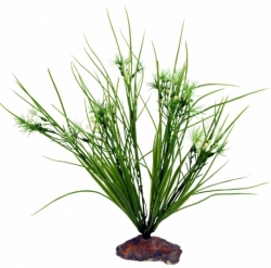 Lucky Reptile Serengeti Grass with White Flowers 30cm