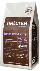 Naturea Grain Free Lands Cat & Kitten  350g