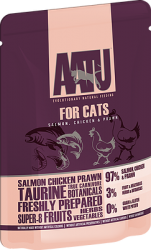 Aatu for Cats Salmon, Chicken & Prawn 85g