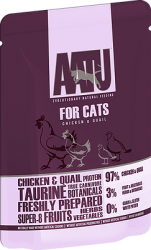 Aatu for Cats Chicken & Quail 85g