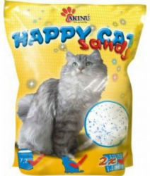 Akinu Happy Cat Silica Gel Sandy 7,2L