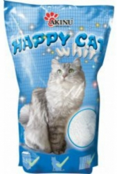 Akinu Happy Cat Silica Gel White 3,6L