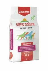 Almo Nature Grain Free Dog Medium & Large Breed Pork and Potato 12kg