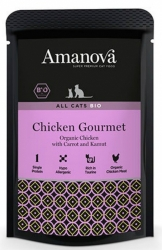 Amanova Bio Cat Chicken Gourmet 85g
