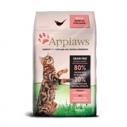 Applaws Grain Free Cat Adult Chicken&Salmon  400g