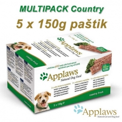 APPLAWS Dog Delicious Paté MultiPack Country 5 x 150g