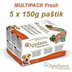 APPLAWS Dog Delicious Paté MultiPack Fresh 5 x 150g