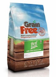 Best Breeder Grain Free Dog Lamb, Sweet Potato & Mint  2kg