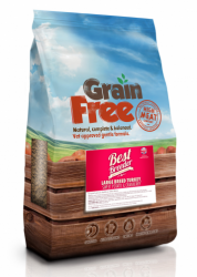 Best Breeder Grain Free Dog Large Breed Turkey, Sweet Potato & Cranberry  2kg