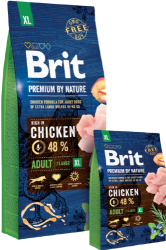 Brit Premium by Nature Dog Adult XL Breed  3kg