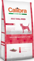 Calibra Grain Free Dog Adult Small Breed Duck 2kg