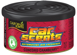 CALIFORNIA SCENTS Automotive Air Freshener Concord Cranberry