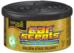CALIFORNIA SCENTS Automotive Air Freshener Golden State Delight