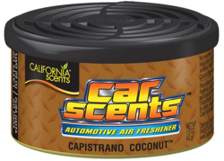 CALIFORNIA SCENTS Automotive Air Freshener Capistrano Coconut