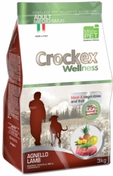 Crockex Wellness Dog Adult Lamb and Rice  3kg