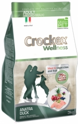 Crockex Wellness Dog Adult Duck and Rice  3kg