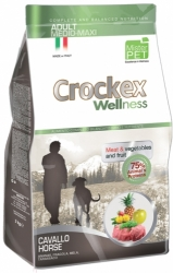 Crockex Wellness Dog Adult Horse and Rice  3kg