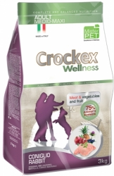 Crockex Wellness Dog Adult Rabbit and Rice  3kg