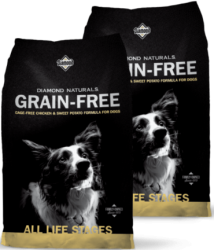 Diamond Naturals Grain Free Dog Chicken & Sweet Potato 2x12,7kg