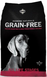 Diamond Naturals Grain Free Dog Beef & Sweet Potato  2,26kg