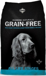 Diamond Naturals Grain Free Dog Whitefish & Sweet Potato  2,26kg