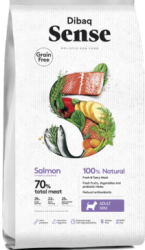 Dibaq Sense Grain Free Dog Mini Salmon 2kg