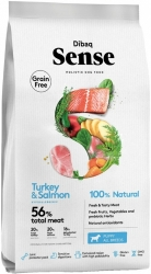 Dibaq Sense Grain Free Dog Puppy Salmon & Turkey  2kg
