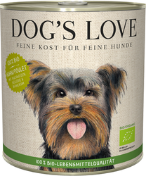 Dog´s Love Bio Chicken 800g