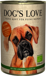 Dog´s Love Bio Turkey 400g