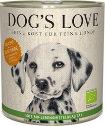 Dog´s Love Bio Turkey 800g