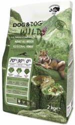 Dog & Dog WILD Grain Free Dog Adult Regional Forest  2kg