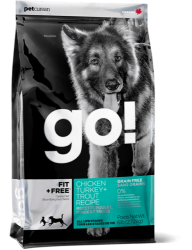 PETCUREAN GO! Grain Free Fit + Free 11,33kg