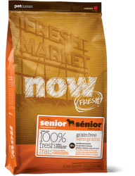 PETCUREAN NOW FRESH Grain Free Senior 11,33kg