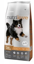 Nutrilove Dog Adult Large Breed with Fresh Chicken 12kg