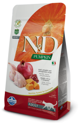 N&D Pumpkin Grain Free Cat Quail & Pomegranate 1,5kg