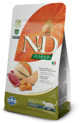 N&D Pumpkin Grain Free Cat Duck & Cantaloupe Melon 1,5kg