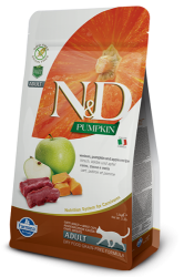 N&D Pumpkin Grain Free Cat Venison & Apple 1,5kg