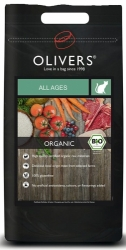 Olivers Cat Organic Bio All Ages 8kg