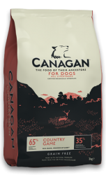 Canagan Grain Free Dog Country Game  6kg