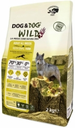Dog & Dog WILD Grain Free Dog Adult Regional Farm 12kg