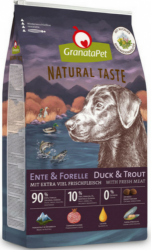 GranataPet Natural Taste Duck & Trout 12kg