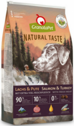 GranataPet Natural Taste Salmon & Turkey 12kg