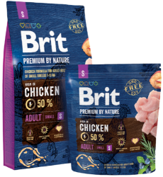 Brit Premium by Nature Dog Adult Small Breed 3kg
