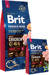 Brit Premium by Nature Dog Adult Large Breed  8kg