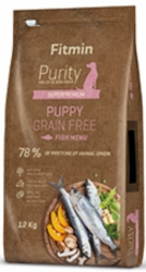 Fitmin Dog Purity Grain Free Puppy Fish 12kg