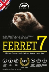 Coyote Grain Free FERRET 7 7kg