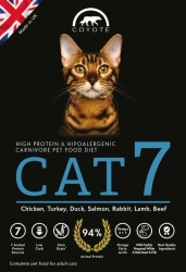 Coyote Carnivore Nutrition CAT 7 Grain Free 2kg