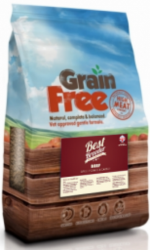 Best Breeder Grain Free Dog Beef, Sweet Potato & Carrot 12kg