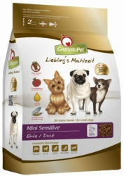 GranataPet Grain Free Dog Mini Sensitive Duck 2x2kg