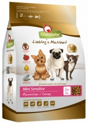 GranataPet Grain Free Dog Mini Sensitive Coney 2x2kg